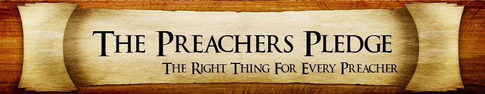 preachers pledge